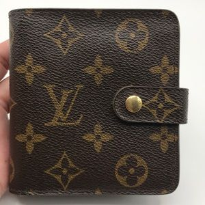 Authentic Louis Vuitton Compact Wallet